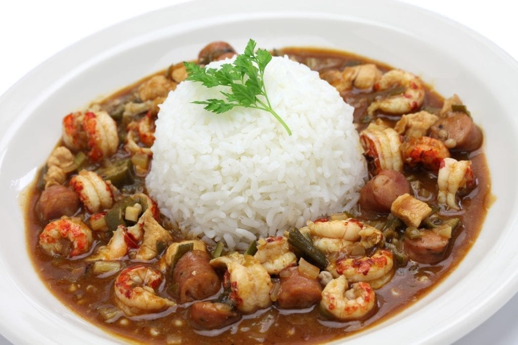 Gumbo crawfish