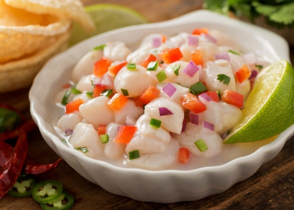 Thumbnail for the post titled: Ceviche: A Cool Fish Dish for Hot Summer Days